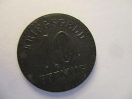 Germany: Kriegsgeld 10 Pfennig Furtwangen Heidenschloss 1918 - Noodgeld