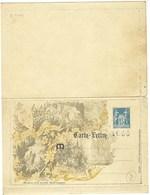 France, Entier Postal, 1895, Carte Lettre Commémorative Timbrée Sur Commande, Fêtes De Jeanne D'Arc, Piq. B, Tirage 2000 - Postal Stamped Stationery