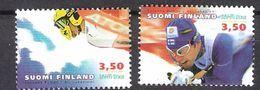 Finland 2001 Nordic World Ski Championships, Lahti  Mi 1552-1553 MNH(**) - Finlande