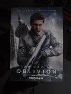OBLIVION Movie Film Carte Postale - Cinema