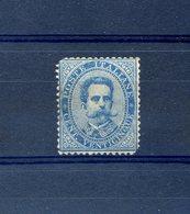 Italie, N°36 Neuf* (dents Manquantes à 2 Angles) - Cote 600€ - (W1245) - 1861-78 Victor Emmanuel II.