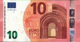 ! 10 Euro Currency, Money, Geldschein, Banknote , F002G2, Mario Draghi, EZB, ECB, Europäische Zentralbank - EURO