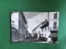 Cartolina Cerano - Via A. Di Dio - 1940 - Novara