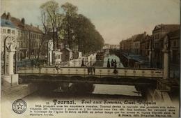 Tournai // Pont Aux Pommes (color) 1913 - Doornik