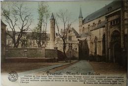 Tournai // Marche Aux Poteries (color) 1913 - Doornik