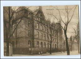 XX005083/ Hamburg Borgfelde Martha-haus  Baustraße AK 1925 - Mitte