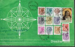 ITALIE Lettre 1971 Tableaux Giotto - Poststempel - Freistempel