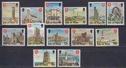 Isle Of Man 1978 Definitives Part 1 / Perf. 14  13v ** Mnh (43326) - Man (Eiland)