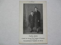 CARTE PHOTO - PUPILLES : Rassemblement Populaire De Sèvres - Spanje