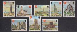 Isle Of Man 1978 Definitives Part 1 / Perf. 14.5  8v ** Mnh (43327) - Man (Eiland)