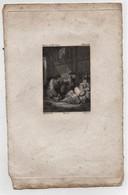 Petite Gravure Ancienne (bois Gravé) Oeuvre De Mme Cottin Elisabeth Deveria Del Derly Sc - Gravures