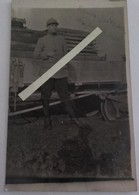1916/1918 Génie 5eme Régiment Decauville Wagon Truck Voie Réduite Transport Rail Tranchée Poilus 1914 1918 WW1 14/18 1WK - War, Military