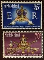 Norfolk Island 1978 Coronation Anniversary MNH - Norfolk Island