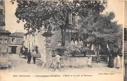 16-CHAMPAGNE-MOUTON- L'HÔTEL ET LE CAFE DE PLAISANCE - Francia