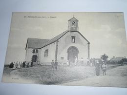 C.P.A.- Préfailles (44) - La Chapelle - Entrée à L'Eglise - 1920 - SUP (BV 50) - Préfailles