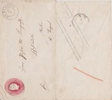 REDUZIERT Preußen Ganzsache U 11 A K2 Mühlberg N Neiden B Torgau Sachsen Landpost Ca 1855 - Preussen
