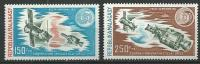 """Madagascar Aerien YT 144 & 145 """" Coopération Spatiale """" 1974 Neuf** - Madagascar (1960-...)"""