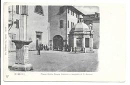 Rimini - Piazza Giulio Cesare Colonna E Tempietto Di S. Antonio. - Rimini