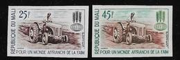 REPUBLIQUE DU MALI - 1963 - 2 Valori N.D. Nuovi Stl - CAMPAGNA MONDIALE CONTRO LA FAME - In Ottime Condizioni. - Mali (1959-...)