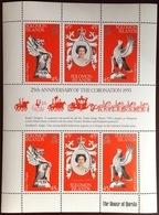 Solomon Islands 1978 Coronation Anniversary Minisheet MNH - Isole Salomone (1978-...)