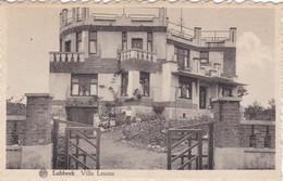 Lubbeek - (klein Formaat , Gekardelde Kaart) Villa Louisa - Lubbeek