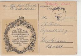 Dekorative Feldpostkarte Von Der 56609 Vom 26.11.43 - Briefe U. Dokumente