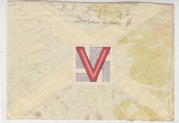 Feldpost 1.9.41 Nach Aabenraa / Apenrade - Hinten Viktoria-Vignette - Deutschland