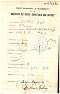 Documents Divers Des Années 1940 Beau Tampon - Documents