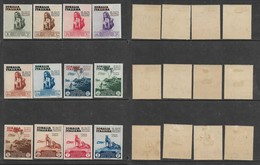 Italian Somaliland, 1934, International Colonial Art Exhibition, Naples,set Of 12 MH * - Somalia
