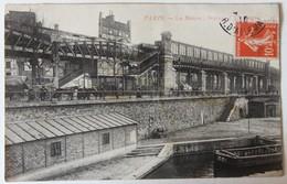 CPA 75 Paris Le Métro Station L'Allemagne 1910 Emile Diesnis Restaurateur à Avranches - Stations, Underground