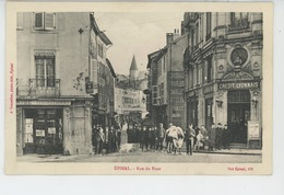 EPINAL - Rue Du Pont (animation - CREDIT LYONNAIS ) - Epinal