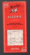 Algérie : Carte Michelin N°172, 1956  (PPP11098) - Cartes Routières