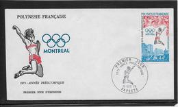 Thème Jeux Olympiques  - Montréal 1976  - Sports - Enveloppe - Summer 1976: Montreal