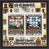 1980Korea North2074-75KLbChess40,00 € - Scacchi