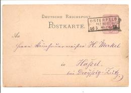 Ra3 Osterfeld/Reg.Bez.Merseburg - Briefe U. Dokumente