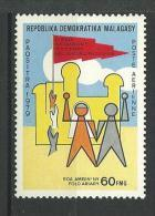 "Madagascar Aerien YT 179 (PA) "" Solidarité Peuple Palestinien "" 1980 Neuf** - Madagascar (1960-...)"