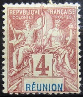 REUNION                 N° 34                  NEUF SANS GOMME - Réunion (1852-1975)