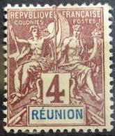 REUNION                 N° 34                  NEUF* - Réunion (1852-1975)