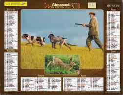°° Calendrier Almanach La Poste 2006 Lavigne - Dépt 32 - Scènes De Chasse Et De Pêche - Kalenders