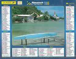 °° Calendrier Almanach La Poste 2006 Lavigne - Dépt 32 - Seychelles Et Polynésie - Kalenders