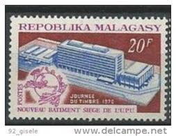 """Madagascar YT 474 """" UPU """" 1970 Neuf** - Madagascar (1960-...)"""