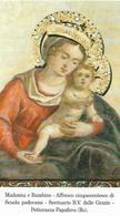 MADONNA E BAMBINO - SANTUARIO - Pettorazza Papafava (RO)  - M - PR - Mm. 60 X 105 - Religione & Esoterismo