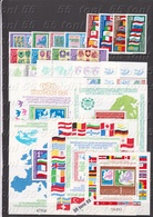 Lot - Conference On Security And Cooperation In Europe (1982;1983;1984.) 5 Set + 5 S/S-MNH Bulgaria/Bulgarie - Bulgaria
