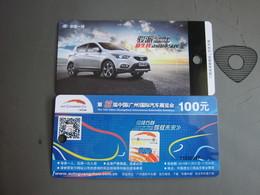 Guangzhou International AutoMobile Exhibition 2014' Ticket - Eintrittskarten
