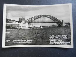 19948) SIDNEY HARBOUR BRIDGE SHOWING LUNA PARK VIAGGIATA 1949 - Sydney