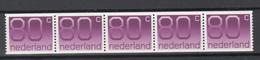 NEDERLAND 1991 POSTZEGELSTRIP CIJFER MET NUMMER 1118R - Neufs