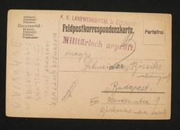 WWI POSTCARD KK. LANDWEHRSPITAL Czernowitz - Ukraine - Oorlog 1914-18