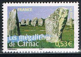 FRANCE : N° 3819 Oblitéré (La France à Voir : Les Mégalithes De Carnac) - PRIX FIXE - - France