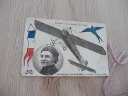 CPA  Aviation Plane Brindejonc Des Moulinais Monoplan Morane Saulnier Honneur à Nos Oiseaux De France - Aviateurs