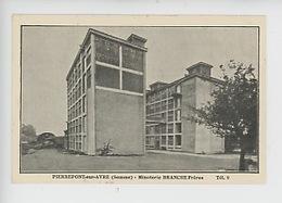 Pierrepont Sur Avre (Somme) Minoterie BRANCHE Frères (alimentaire Sons Fins Ou Recoupettes) R.C. Montdidier 1920 - Industry